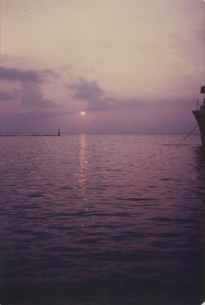 Corfu sunset, photo by M. Reynolds