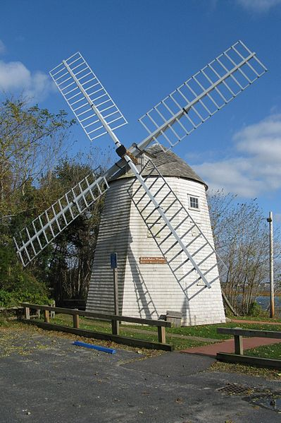Judah Baker Windmill, South Yarmouth - photo by John Phelan