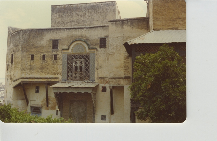 Residence in Fez photo by M. Reynolds