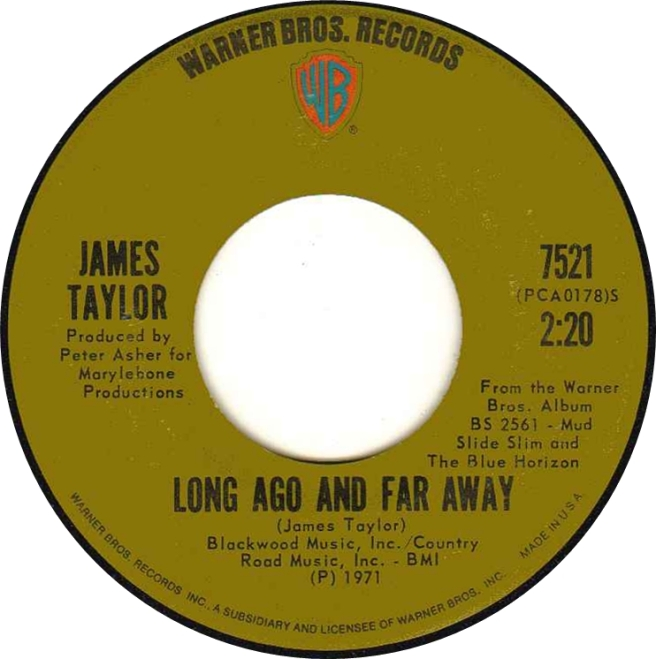Long Ago and Far Away - James Taylor
