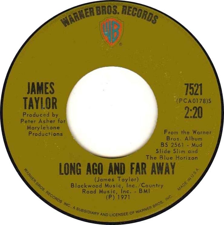 Long Ago and Far Away - James Taylor