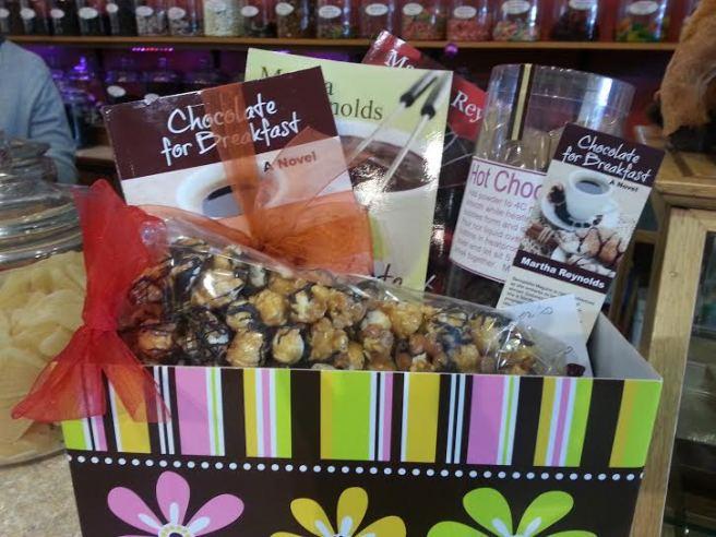 at Jennifer's Chocolates