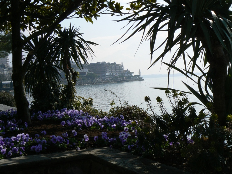 Montreux in March - photo by M. Reynolds