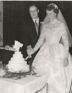 Wedding Day, October 22, 1955