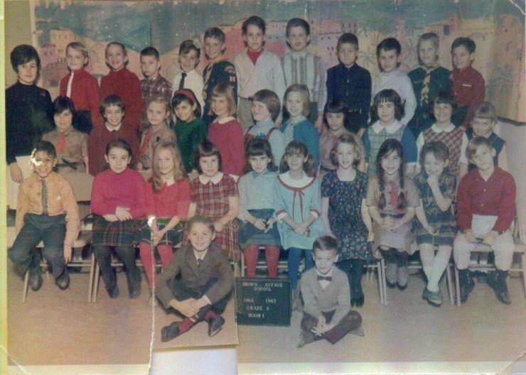Third grade Brown Avenue School