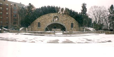 War Memorial Grotto - Providence College