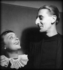 Edith Piaf and Raymond Asso