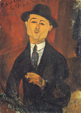 Paul Guillaume by Amadeo Modigliani