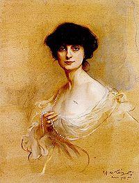 Portrait of Anna, Comtesse de Noialles, by Philip de Lazslo