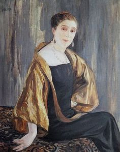 Portrait of Jeanne Lanvin, by Dufau, 1925