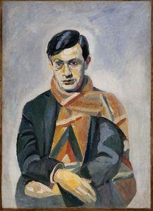 Tristan Tzara, by Robert Delaunay