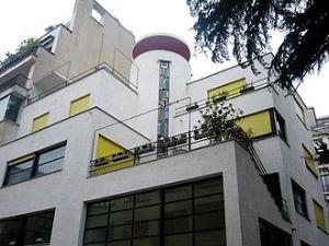 Home designed and built for sculptors Jan and Joel Martel, 1926-1927